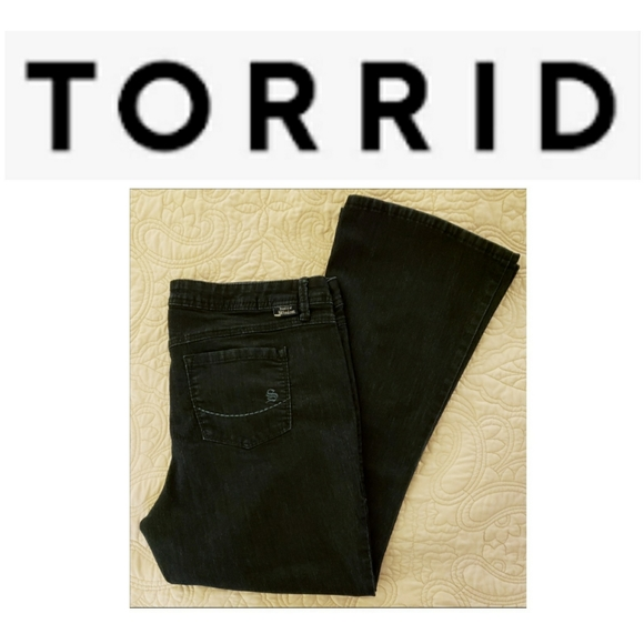 Torrid Source of Wisdom Bootcut Jeans